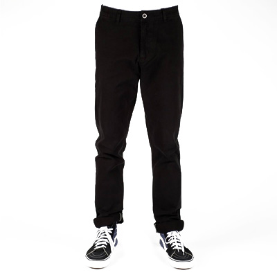 DEDICATED Chino Pants SUNDSVALL black