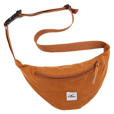 CLEPTOMANICX Gürteltasche C.I. PATCH spice brown
