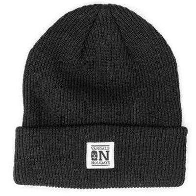 VANDALS ON HOLIDAYS Beanie CLASSIC black