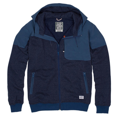 CLEPTOMANICX Jacket EKIN 2 blue