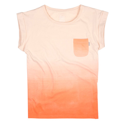 CLEPTOMANICX Girl Loose Shirt TAPP nectarine