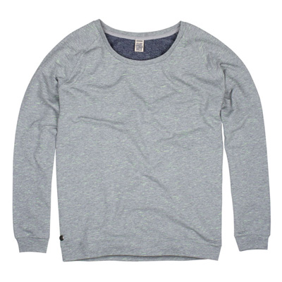 CLEPTOMANICX Girl Sweater FLARRY heather grey