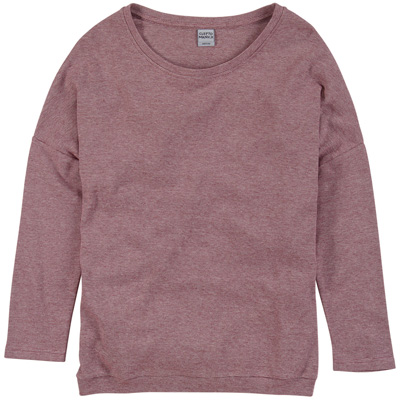 CLEPTOMANICX Girl Knit Sweater HENNI burgundy