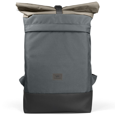 FREIBEUTLER Rucksack COURIER BAG BLACK STRAP grey