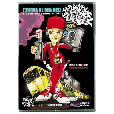CRIMINAL MINDED No. 4 - Live at the crime scene DVD