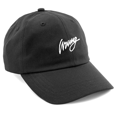 WRUNG Baseball Cap SIGN LOGO black