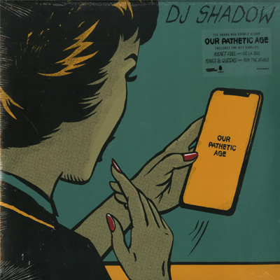 DJ Shadow - Our Pathetic Age - Vinyl 2xLP