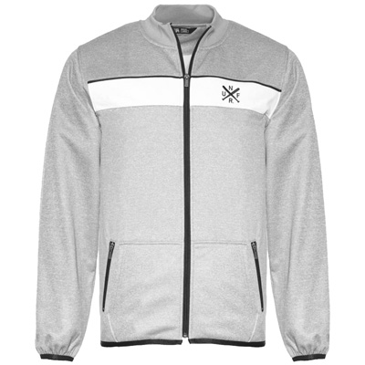 UNFAIR ATHLETICS Trainerjacke DMWU XTD heather grey/white