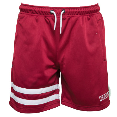 UNFAIR ATHLETICS Shorts DMWU burgundy/white