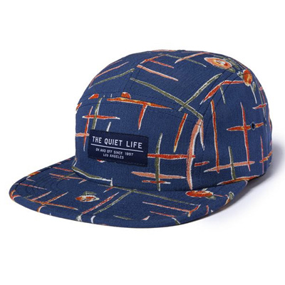 THE QUIET LIFE 5Panel Cap DECO navy