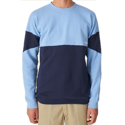 CLEPTOMANICX Sweater DROP 91 allure blue/navy