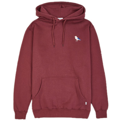 CLEPTOMANICX Hoody EMBRO GULL 2 windsor wine