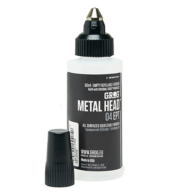 GROG METAL HEAD 04 Empty Marker