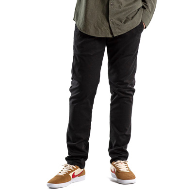 REELL Chino Pants FLEX TAPERED black