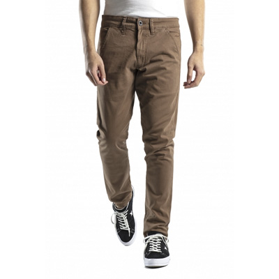 REELL Chino Pants FLEX TAPERED brown