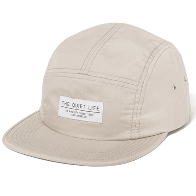 THE QUIET LIFE 5Panel Cap FOUNDATION oyster
