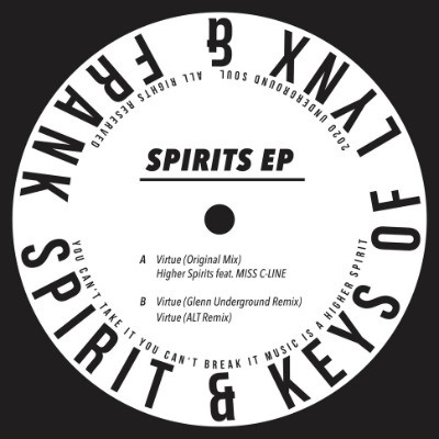 Frank Spirit & Keys Of Lynx - Spirits EP - Vinyl 12""