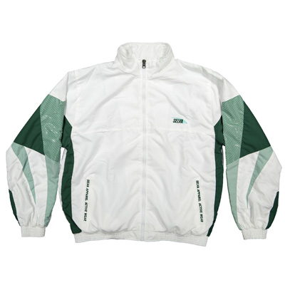 SELVA Trackjacket SUNLINER white/green