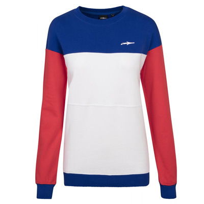 ILLMATIC Girl Sweater TILLIA red/white/blue