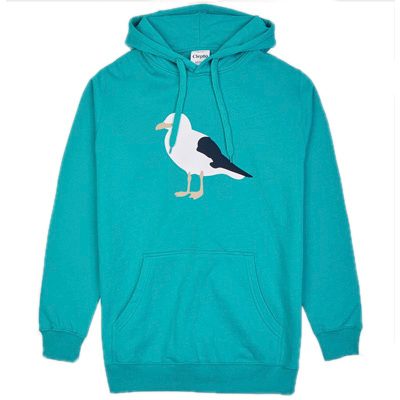 CLEPTOMANICX Hoody GULL 3 colombia