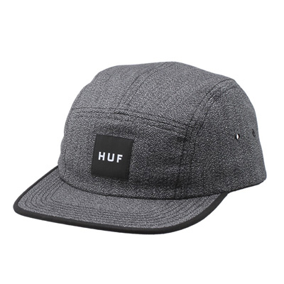 HUF 5Panel Cap JAPANESE SPECKLE black