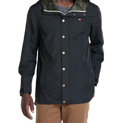 OBEY Jacke HUNTER REVERSIBLE black/camo