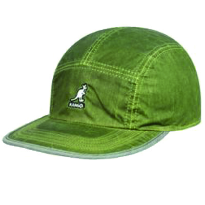 KANGOL 5Panel Cap HEAT REACT REVERSIBLE lime green