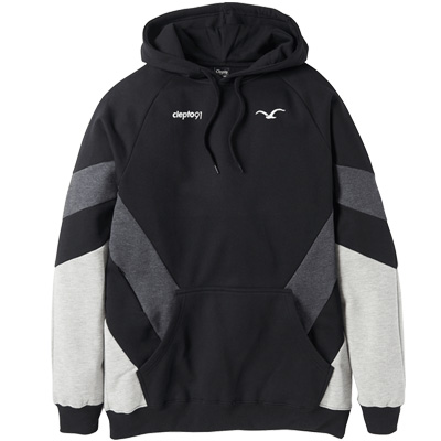CLEPTOMANICX Hoody THAT IS THAT 2 black