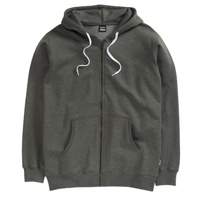 CLEPTOMANICX Hooded Zipper LIGULL II heather dark olive