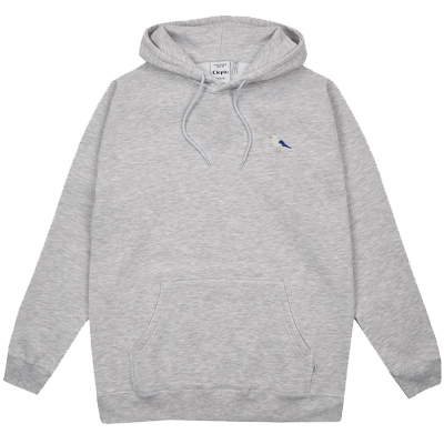 CLEPTOMANICX Hoody EMBRO GULL 2 light heather grey
