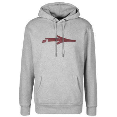 ILLMATIC Hoody NERV heather grey/burgundy