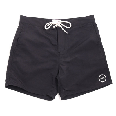 OBEY Board Shorts INLET LOGO black