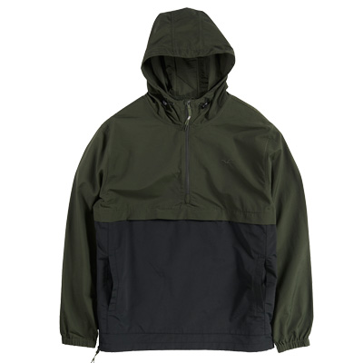 CLEPTOMANICX Jacke CITYHHHOODED 2 black/dark olive