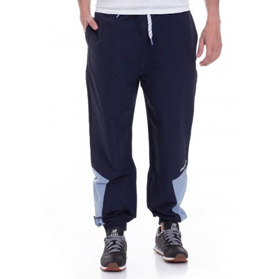 CLEPTOMANICX Trackpants TRACK TWO dark navy/light blue