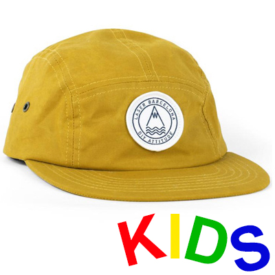 LASER 5Panel Cap BARCELONETA yellow - Kids