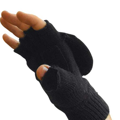 THINSULATE Double Gloves Black