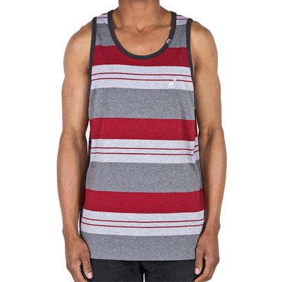 LRG Tank Top STAY GROUNDED ash heather