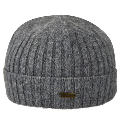 KANGOL Beanie LAMBSWOOL PULL ON flannel grey