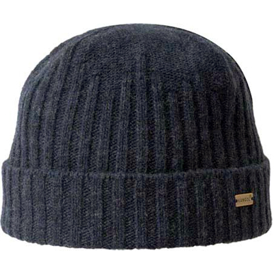 KANGOL Beanie LAMBSWOOL PULL ON black