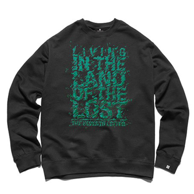 7TH LETTER Sweater LAND OF THE LOST black