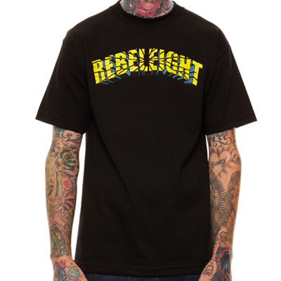REBEL8 T-Shirt MANIA black