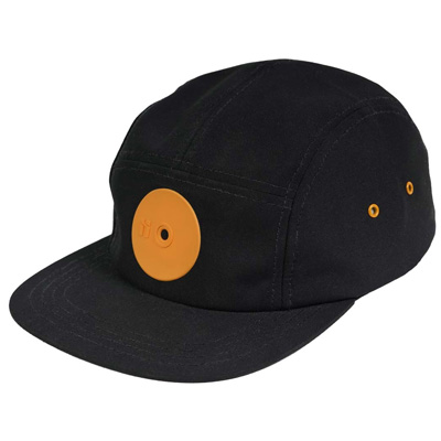 MR. SERIOUS 5Panel Cap HARDCORE MEDIUM black/orange