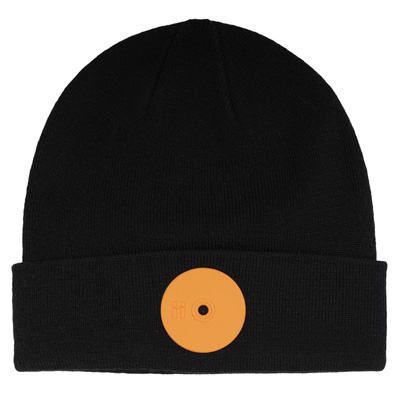 MR. SERIOUS Beanie HARDCORE MEDIUM black/orange