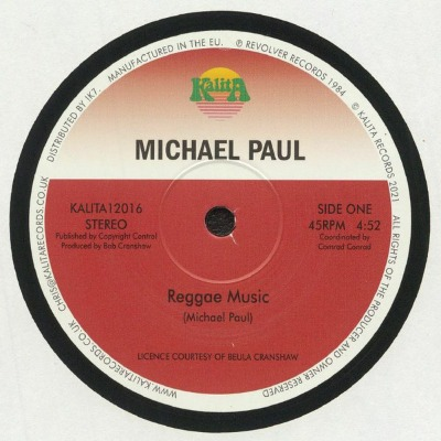 Michael Paul - Reggae Music - Vinyl 12""