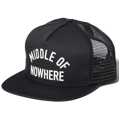 THE QUIET LIFE Trucker Cap MIDDLE OF NOWHERE black