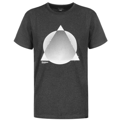 STREETSPUN T-Shirt MODERN SIMPLICITY heather charcoal