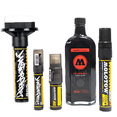 MOLOTOW Masterpiece Coversall Complete Kit