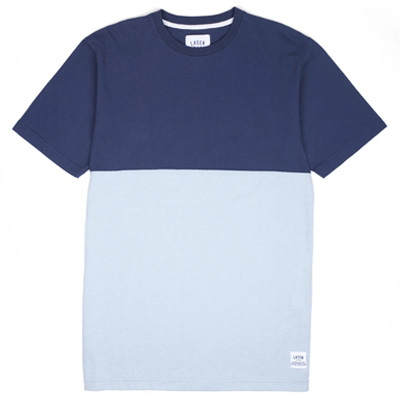 LASER T-Shirt MONTSENY TWO TONES navy/light blue