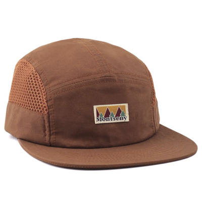 LASER 5Panel Cap MONTSENY V2 TECH flax brown