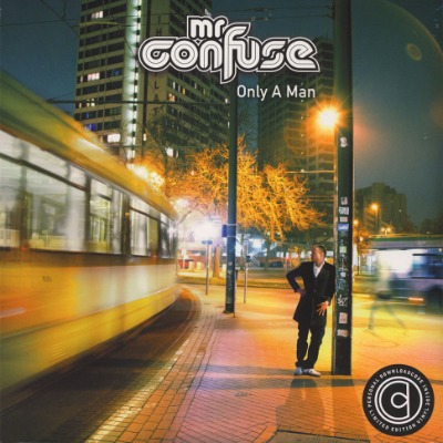 Mr. Confuse - Only A Man - Vinyl 2xLP